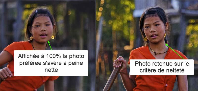trier ses photos - le zoom synchronisé