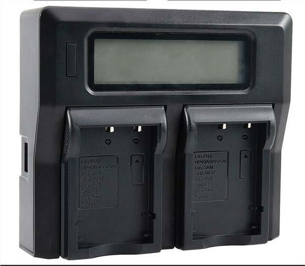 chargeur double batterie
