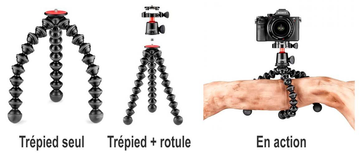 Gorillapod 3K PRO des bonnes idées cadeaux de noël pour photographes