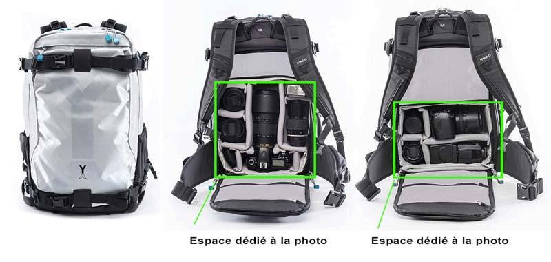 Comment choisir son sac photo - les sacs à dos hybrides